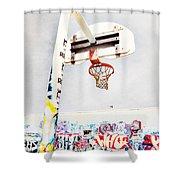 March 23 2010 Shower Curtain by Tara Turner