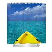 Mariana Islands, Saipan Shower Curtain by Greg Vaughn - Printscapes