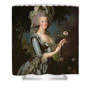 Marie Antoinette Shower Curtain by Elisabeth Louise Vigee Lebrun
