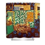 Matisse Interior 1911 Shower Curtain by Granger