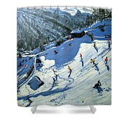 Matterhorn Shower Curtain by Andrew Macara