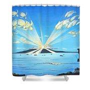 Maui Magic Shower Curtain by Jerome Stumphauzer