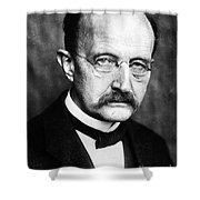 Max Planck  Shower Curtain by Granger
