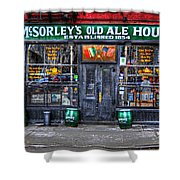 Mcsorley's  In Color Shower Curtain by Randy Aveille