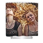 Medusae Shower Curtain by Loriental Photography