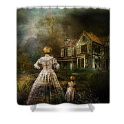 Memories Shower Curtain by Mary Hood