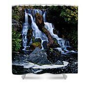 Mental Vacation Shower Curtain by Clayton Bruster