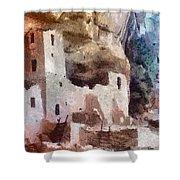 Mesa Verde Shower Curtain by Jeff Kolker
