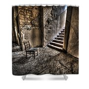 Middle Floor Seating Shower Curtain by Nathan Wright