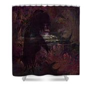 Midnight Dream Shower Curtain by Rachel Christine Nowicki