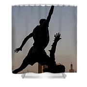 MJ Shower Curtain by Andrei Shliakhau