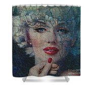 Mm 132 A Shower Curtain by Theo Danella