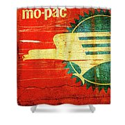 Mo-Pac Caboose  Shower Curtain by Toni Hopper