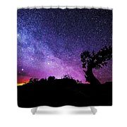 Moab Skies Shower Curtain by Chad Dutson