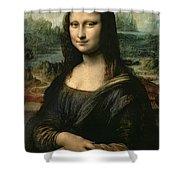 Mona Lisa Shower Curtain by Leonardo da Vinci
