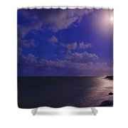 Moonlight Sonata Shower Curtain by Chad Dutson