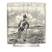 Mormons: Polygamy, 1883 Shower Curtain by Granger