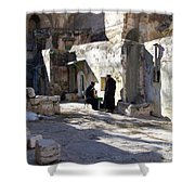 Morning Conversation Shower Curtain by Kathy McClure