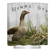 Mother Goose Shower Curtain by Juli Scalzi