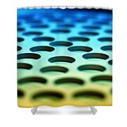 Mothership Shower Curtain by Skip Hunt