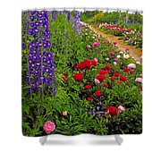 Mount Congreve Gardens, Co Waterford Shower Curtain by The Irish Image Collection
