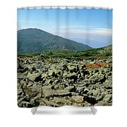 Mount Jefferson - White Mountains New Hampshire  Shower Curtain by Erin Paul Donovan