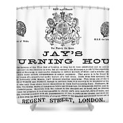 Mourning House, 1891 Shower Curtain by Granger