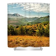 Mt St Helens I Shower Curtain by Brian Harig