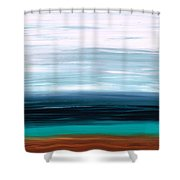 Mystic Shore Shower Curtain by Sharon Cummings