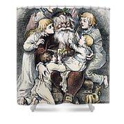 Nast: Christmas, 1879 Shower Curtain by Granger