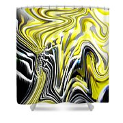 Natures Release Shower Curtain by Tim Allen