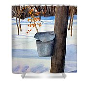 Nh Goldmine Shower Curtain by Sharon E Allen