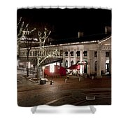 Night Market Shower Curtain by Greg Fortier