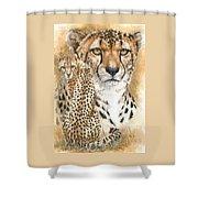 Nimble Shower Curtain by Barbara Keith