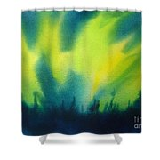 Northern Lights I Shower Curtain by Kathy Braud
