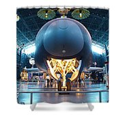Nose Down - Enterprise Shower Curtain by Charles Kraus