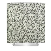 Nowton Court Shower Curtain by Augustus Welby Pugin