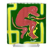 Nude 17 Shower Curtain by Patrick J Murphy