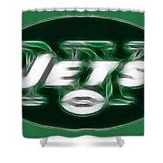 NY JETS fantasy Shower Curtain by Paul Ward