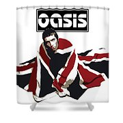Oasis No.01 Shower Curtain by Unknow