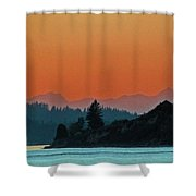 Ode To Elton Bennett Shower Curtain by Chris Anderson