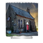 Old Church Shower Curtain by Charuhas Images