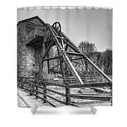 Old Mine Shower Curtain by Adrian Evans