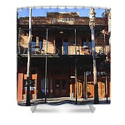 Old Ybor Shower Curtain by David Lee Thompson