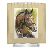Oldenberg Shower Curtain by Barbara Keith