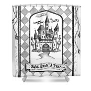 Once Upon A Time Shower Curtain by Adam Zebediah Joseph