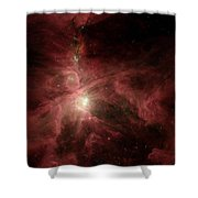 Orions Inner Beauty Shower Curtain by Stocktrek Images