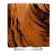 Outback Cavern Shower Curtain by Mike  Dawson