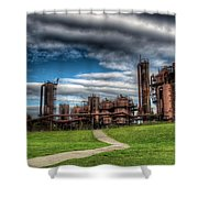 Oz Shower Curtain by Spencer McDonald