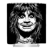 Ozzy No.01 Shower Curtain by Caio Caldas